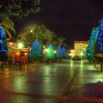 Christmas lights in Maspalomas