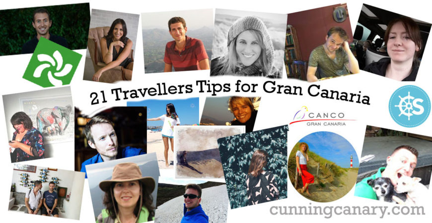 21 Travellers Tips for Gran Canaria collage