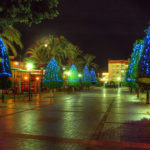 Christmas lights in Maspalomas